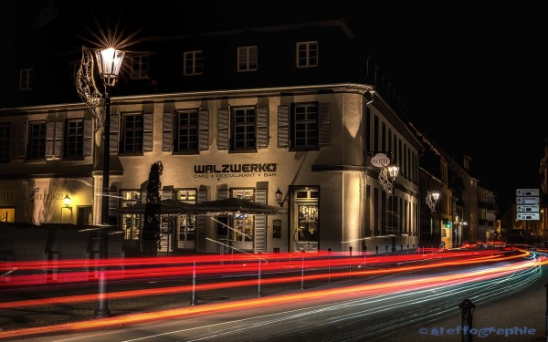 Bar / Restaurant Walzwerk - Schwetzingen @ night