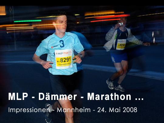 MLP Marathon Mannheim - 24. Mai 2008