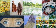 Künstlerinnengruppe Facetten aus Altrip mit Gästen