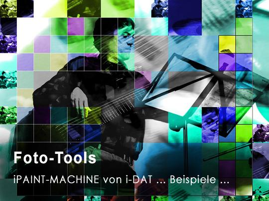 Fotogestaltung mit iPaint-Machine